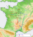 Caesar's campaign to Agedincum in 52BC.png