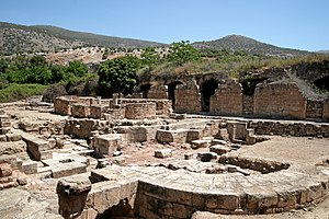 "Caesarea Philippi - Ruins of the Agrippa palace in ""Neronias/Caesarea Philippi"""