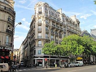 Café Anglais - The site now