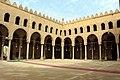 Cairo, cittadella, moschea di an-nasr mohammed, 1318-1335, cortile 04.JPG