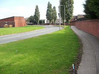 Netherley, Liverpool - Image: Caldway Drive Liverpool