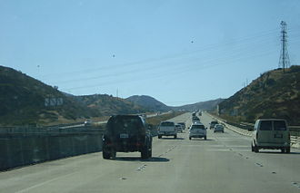 California State Route 52 - SR 52 westbound heading towards I-15