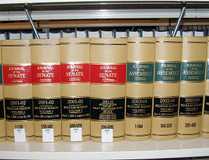 California State Legislature - Image: Californialegislatur ejournals