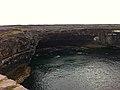 Calm ocean below Black Fort (6031132962).jpg