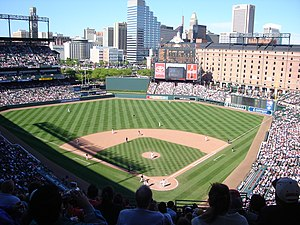 Baltimore Orioles - The Orioles taking on the Kansas City Royals at home in 2005.