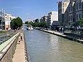 Canal Ourcq vu depuis Pont Avenue Général Leclerc Pantin 2.jpg