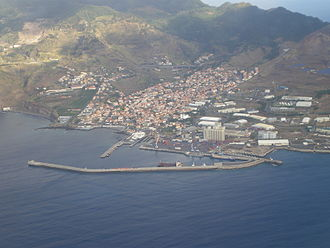 Caniçal - View from the air