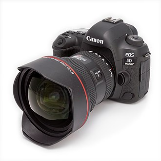 Canon EOS 5D Mark IV - Image: Canon EOS 5D Mark IV and EF 11 24mm F4L USM