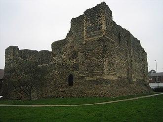 Canterbury Castle - Image: Canterbury 20 2 07 068