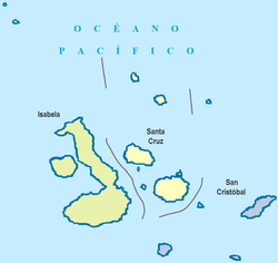 Cantons of Galápagos Province