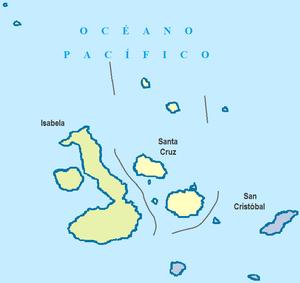 Galápagos Province - Image: Cantones de Galápagos