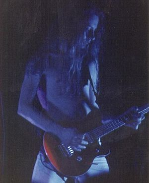 Jerry Cantrell playing with Alice in Chains at...