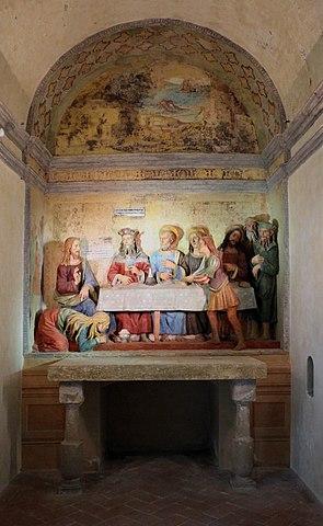 File cappella della casa di simone fariseo cena in casa for Planimetrie della casa di gambrel