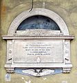 Cappella pandolfini, ext., tomba raffaello baldocci.JPG