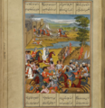 Capture of Tiflis by Agha Muhammad Shah. A Qajar-era miniature. 02.png