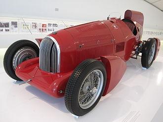 Alfa Romeo P3 - Image: Car Musée Enzo Ferrari 0054