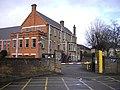 Car Park entrance at Ealing Magistrates Court - geograph.org.uk - 1729971.jpg