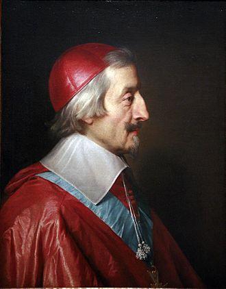 Cardinal Richelieu - Cardinal de Richelieu by Philippe de Champaigne (1642)