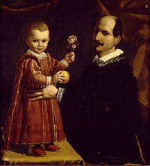 A Man with a child