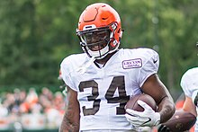 cheap for discount f8f41 d0af4 Carlos Hyde - Wikipedia
