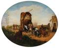 Carretas en los suburbios (1850).png