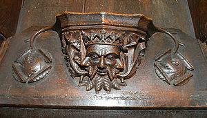 Cartmel Priory - Image: Cartmel S12