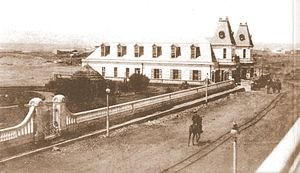 Agustín Ross Cultural Centre - The building circa 1910.