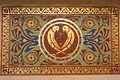 Castelul Cantacuzino, Mozaic placat cu aur.jpg