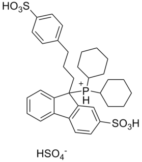 CataCXium F sulf chemical compound