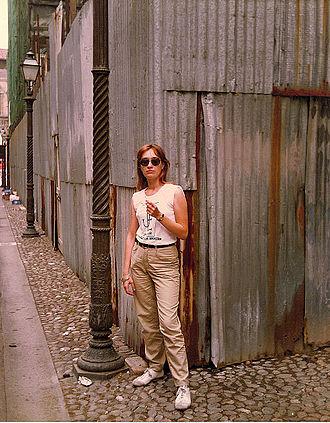 Caterina Davinio - Caterina Davinio in Bologna in 1981.
