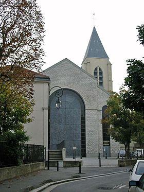 Cath drale sainte genevi ve et saint maurice de nanterre - Piscine sainte genevieve ...