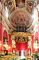 Cathedral St Marija interior Victoria Gozo Malta 2014 4.jpg