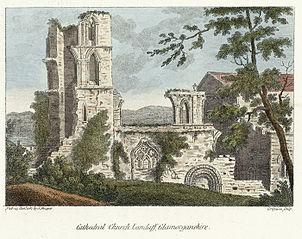 Cathedral church, Landaff, Glamorganshire