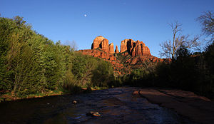 English: Cathedral Rock, Sedona, Arizona.