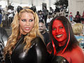 Catwoman and Red She-Hulk (11576085505).jpg