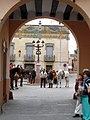 Caudete. Plaza de la Iglesia. Víspera de Reyes 1.JPG