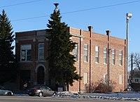 Cedar Rapids, Nebraska city hall from NW 1.JPG