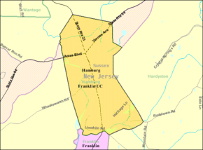 Census Bureau map of Hamburg, New Jersey.png