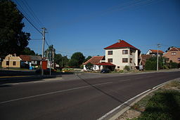 Center of Rácovice, Třebíč District.JPG