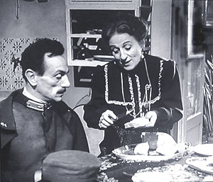 Titina De Filippo - Titina De Filippo with her brother Eduardo in 100 Years of Love (1954)