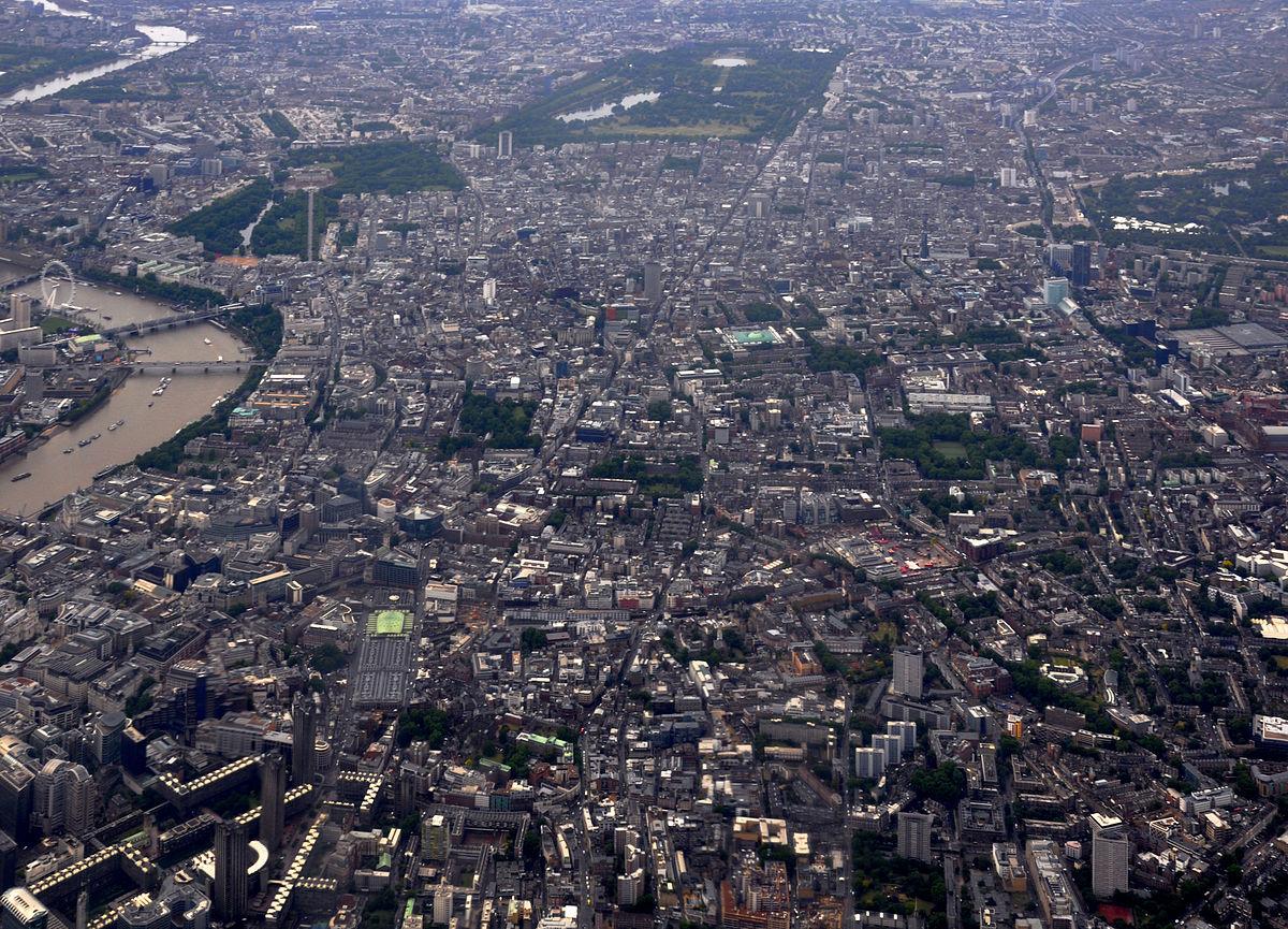Central London Wikipedia entziklopedia askea
