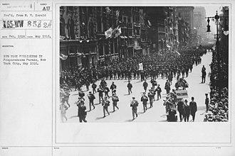 Preparedness Movement - Preparedness Parade, New York City, May 1916