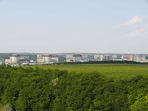 Cernavodă Nuclear Power Plant - The Cernavodă Nuclear Power Plant