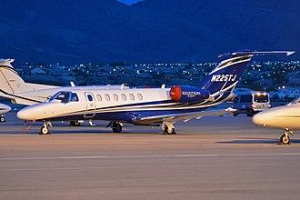 Henderson Executive Airport - Image: Cessna Citationjet CJ3+ 'N225TJ' (29143336902)