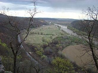 Mureș (river) - Image: Cetatea Soimos (15)