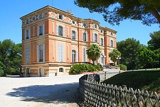 Musée de la Faïence de Marseille - Image: Château Pastré à Marseille
