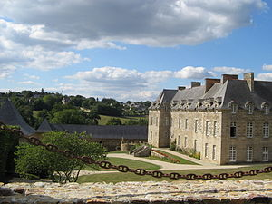 Guitté - Chateau of Couëllan