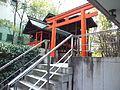 Chôhô-ji Temple Rokkaku-dô - Karasaki-sha Shrine.jpg