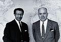 Ch. Mofidi and C.A. Alvarado. Photograph. Wellcome V0028054.jpg