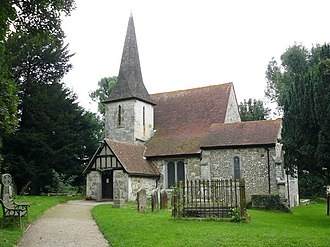 Chaldon - Image: Chaldon Church geograph.org.uk 1188800
